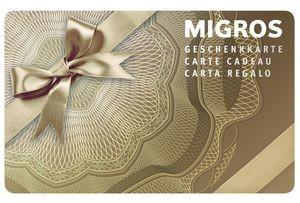 Migros Geschenkkarte