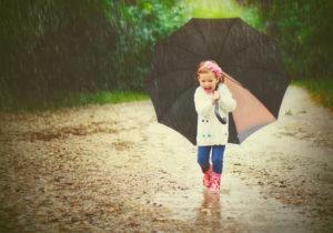 Regenwetter - Spiele mit Kindern trotz Regen / schlechtem Wetter