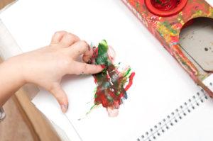 Malen mit Kindern