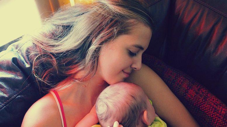 Der erste Babybesuch